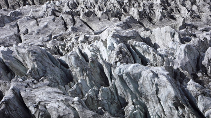 Caucasian glacier.