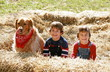 Little Farmers with Dog