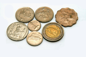 Mixtures of coins