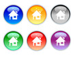 crystal home icons and button