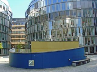 Mediapark in Köln - Ausgang Parkhaus