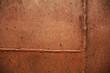 Textura en plancha de metal oxidada