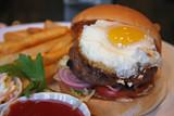 Egg burger poster