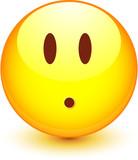 Smiley vectoriel, facilement modifiable ! poster