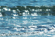 Glistening water