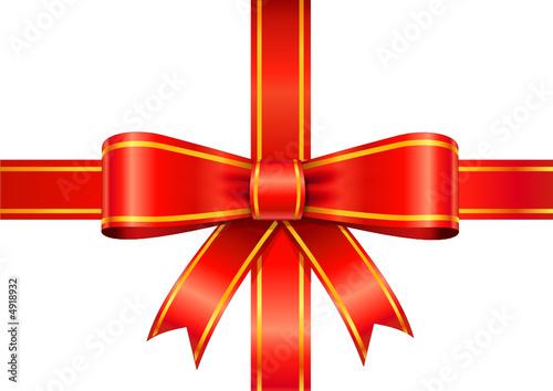 vector ruban rouge paquet cadeau. Black Bedroom Furniture Sets. Home Design Ideas
