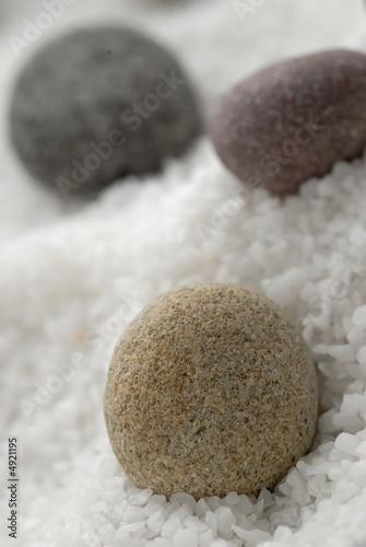 Papiers peints Zen pierres a sable pierres zen