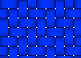 Weave Dark blue poster