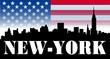 Quadro New york - skyline