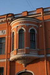Altes Haus in St.Petersburg