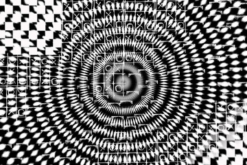 op art. hipnosis mode