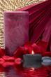 Leinwanddruck Bild Spa candle
