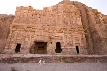Palace Tomb at Petra Jordan