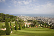 View of Haifa from Bahai'i gardens