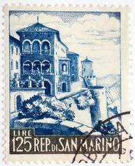 Vintage Italian stamp