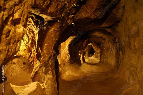 Underground city in Derinkuyu (Turkey)