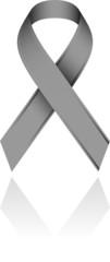 Ruban gris vectoriel