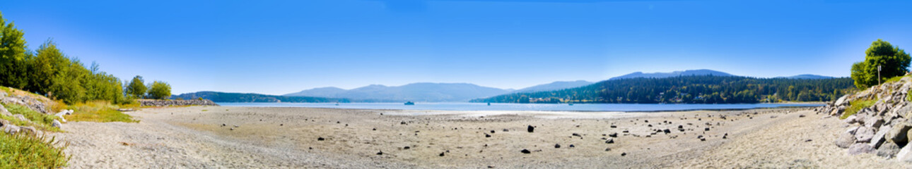 Low Tide Panoramic
