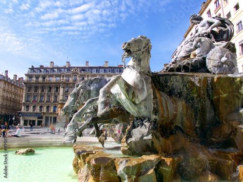 Statue, Terreaux, Bellecour, Lyon