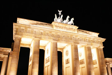 Brandenburger Tor in the night