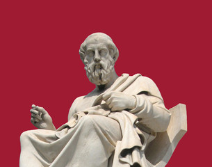 Thinker ( a statue of Socrates, Athens, Greece)