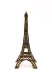Small bronze figurine of Eifel tower poster
