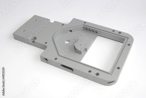 Leinwanddruck Bild CNC Frästeil