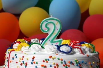 Birthday Cake - Two