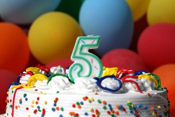 Birthday Cake - Five