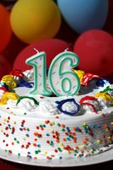 Birthday Cake - Sixteen