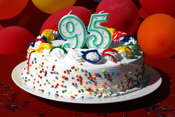 Birthday Cake - Ninety Five