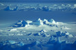 Leinwandbild Motiv Antarctic snowfield