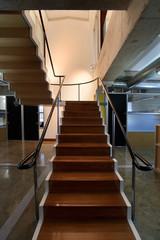 Stairway in a modern office interior