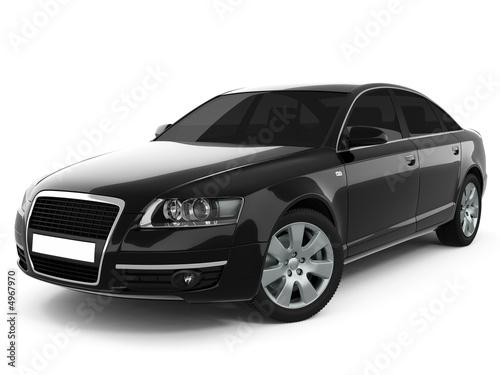 Black Business-Class Car - 4967970