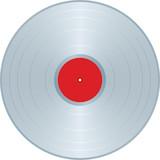 Platinum LP label poster