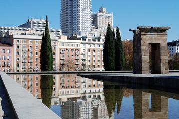 Reflecting in Madrid Spain 3