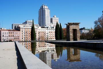 Reflecting in Madrid Spain 2