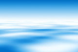 Fototapety Beautiful Blue Water And Sky Background