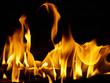 Dancing flame