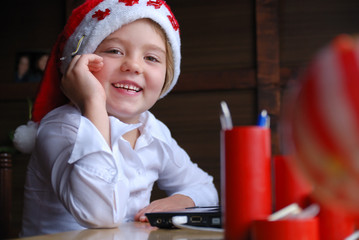 writing e-mail to santa