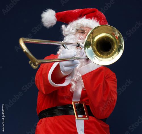 Santas Blast a good place to put text