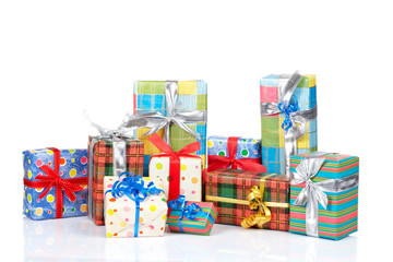 Assortment of gift boxes