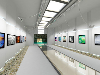 Art Gallery Room