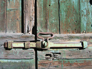serratura arrugginita