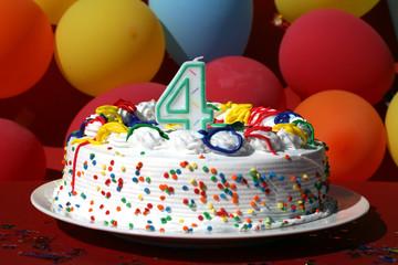 Birthday Cake - Four