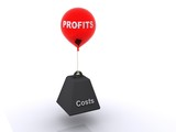 Profits and Costs poster