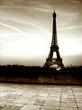 Tour de Eifel (Paris) - Old style picture