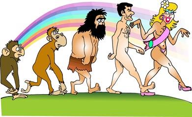 Evolução da espécie