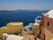 Beautiful view of Santorini Island (Greece)