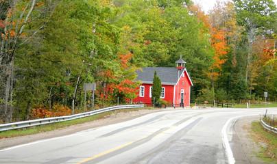 Scenic Autumn Drive Way